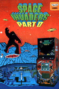 space invaders part II cover