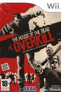 the house of the dead overkill jaquette