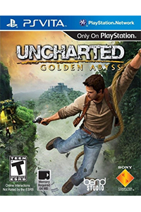 uncharted golden abyss jaquette