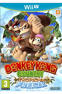 donkey kong country tropical freeze jaquette