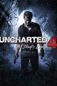 uncharted 4 a theifs end jaquette
