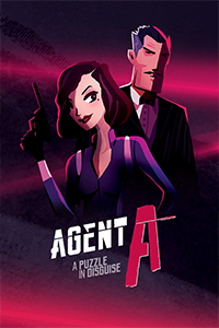 Agent A A Puzzle in Disguise cover