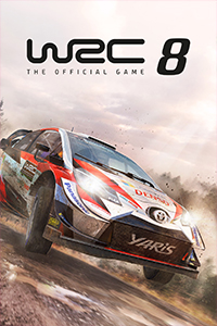Wrc 8 the official game cover