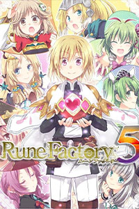 rune factory 5 cover