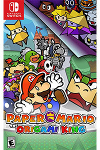 paper mario the origami king cover