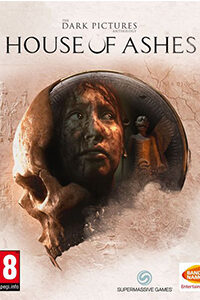 dark pictures house of ashes jaquette