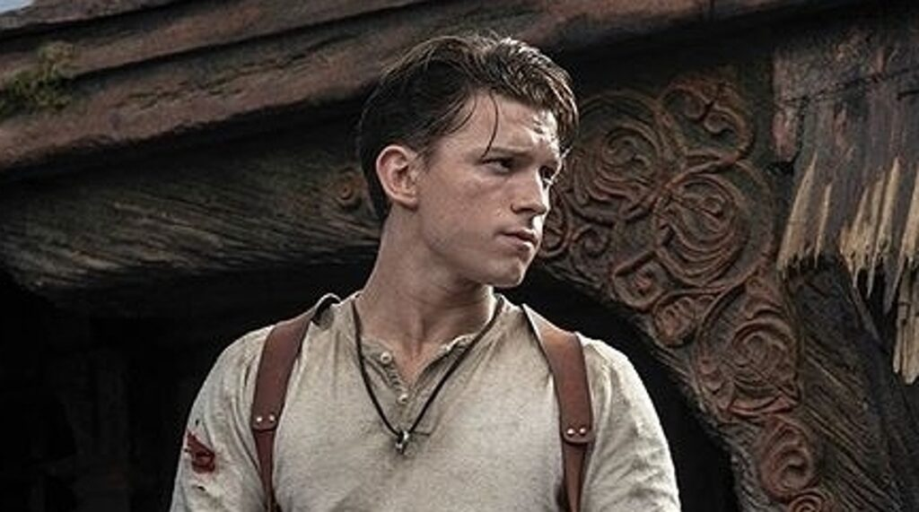 Uncharted avec Tom Holland