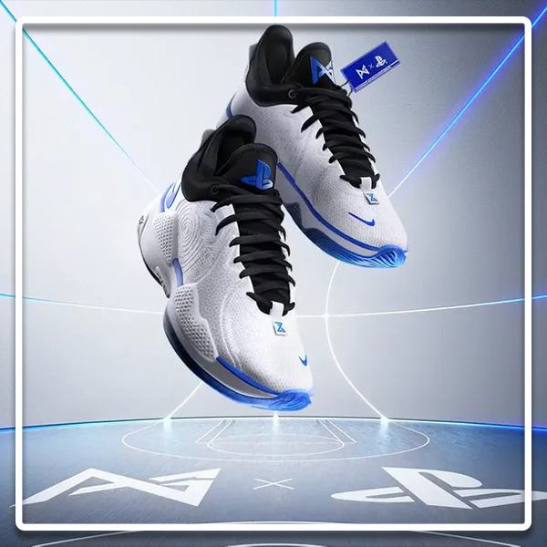 nouvelle paire sneakers nike playstation 5