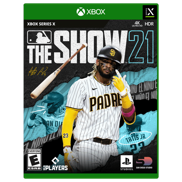 Jaquette MLB the Show 21 Xbox Series