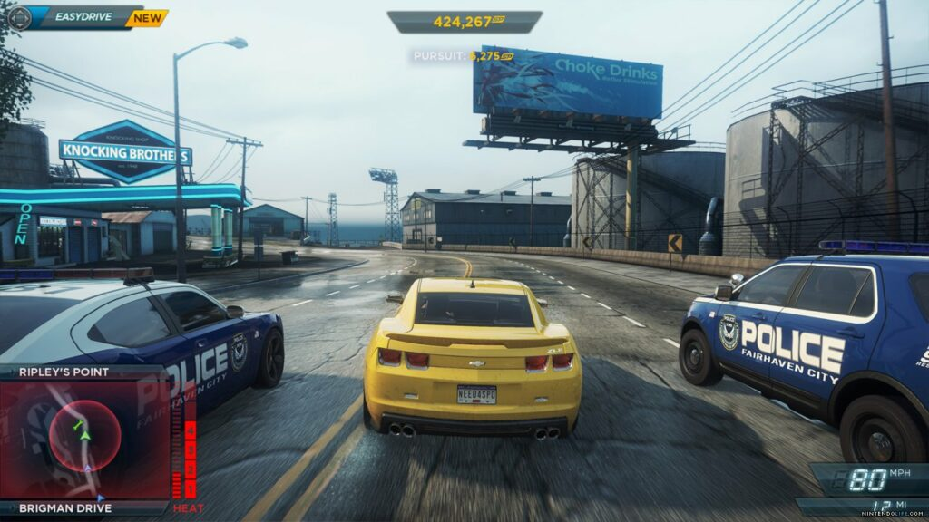 need for speed most wanted sur la wii u portage