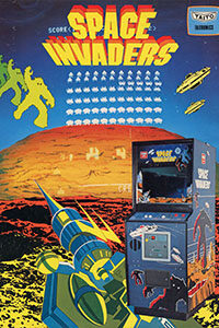 space invaders cover