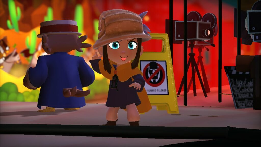 A Hat in time portage Switch