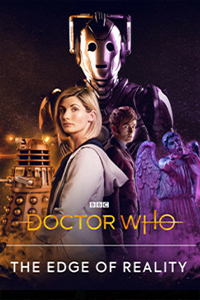 doctor who the edge of reality cover