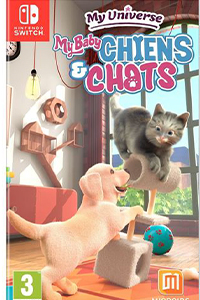 my universe my baby chiens & chats cover